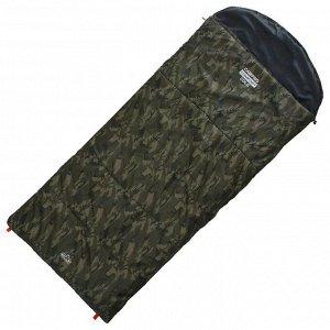 Спальник 4-слойный, R одеяло+подголовник 225 x 100 см, camping comfort cold, таффета/оксфорд, -15°C