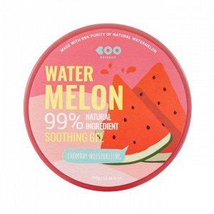 Dearboo Увлажняющий гель с экстрактом арбуза Everyday Moisturizing Soothing Gel Watermelon 99%