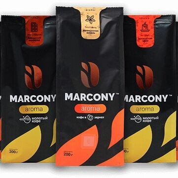 ✅ Лапша из твердых сортов пшеницы Макстори — Кофе MARCONY ароматизированный