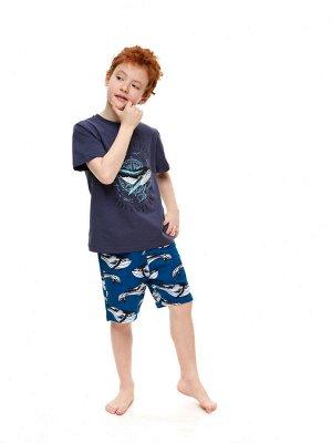 Костюм для мальчика(футболка, шорты)