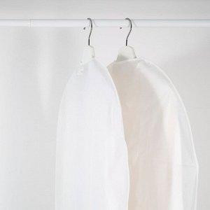 HODDA ХОДДА Чехол для одежды, прозрачный белый.