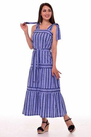 Сарафан женский 4-092а (голубой)