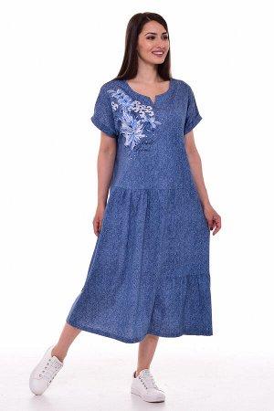 Платье женское 4-69ж (джинс2)