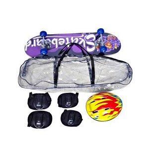 Скейтборд в комплекте со шлемом и защитой 200834539 3108T-1 (1/6)