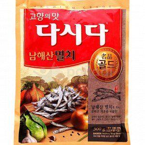 """Вкусовая приправа """"ДАШИДА"""" (анчоусы), 100 г, Корея"""