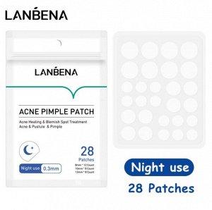 Противовоспалительные патчи Lanbena Acne Pimple Patch
