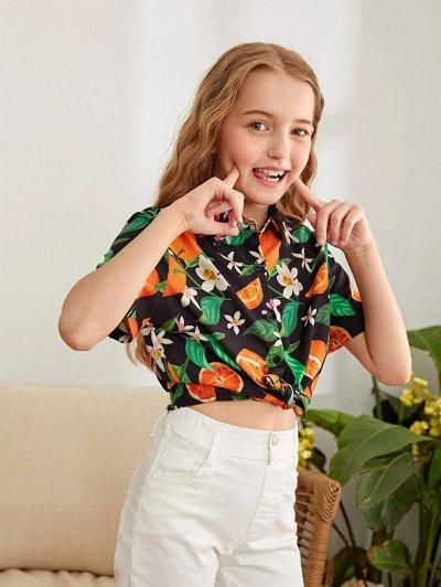 Модная, стильная подростковая одежда и обувь по супер ценам — Блузки для девочек