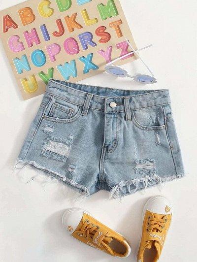 Модная, стильная подростковая одежда и обувь по супер ценам — Джинсовые шорты для девочек
