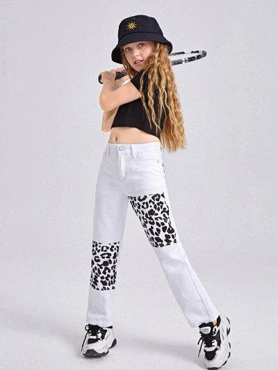 Модная, стильная подростковая одежда и обувь по супер ценам — Джинсы для девочек
