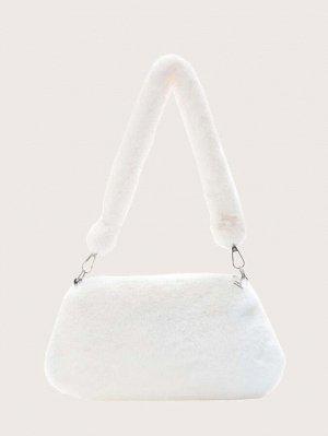 Плюшевая сумка на плечо для девочек