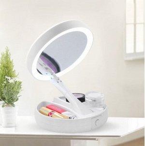 Косметическое зеркало с подсветкой My Foldaway