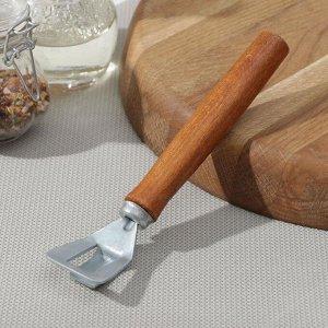 Сковородкодержатель, с деревянной ручкой из бука, 23 см