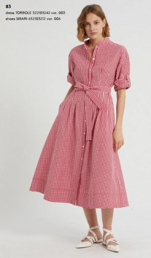 Платье 322103242 var. 003  100% Cotone