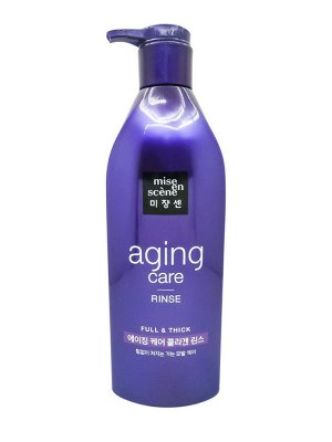 Mise en scene Anti-aging shampoo and rinse Антивозрастной шампунь для волос 680мл