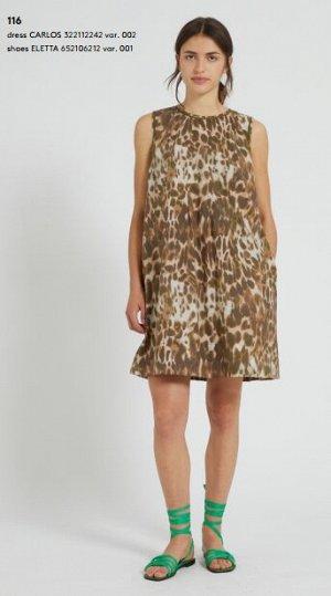 Платье 322112242 var. 002 Tessuto: 100% Cotone Fodera: 100% Cotone