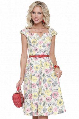Платье Утонченно и женственно, солнечная