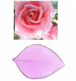 """Молд пластик st-0021 """"Роза лист"""""""