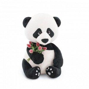 Мягкая игрушка «Панда Бу: Сладкий букет», 20 см