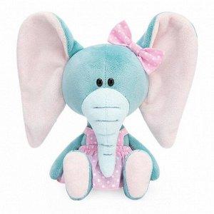 Мягкая игрушка «Слониха Симба в розовом сарафане», 15 см