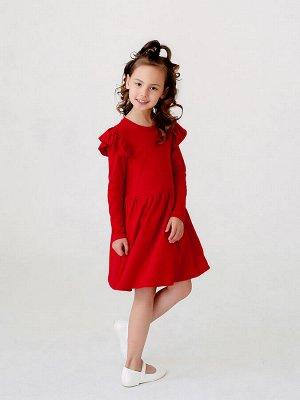 Платье Фея красный