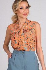 Блузка Лолита №2.Цвет:оранжевый