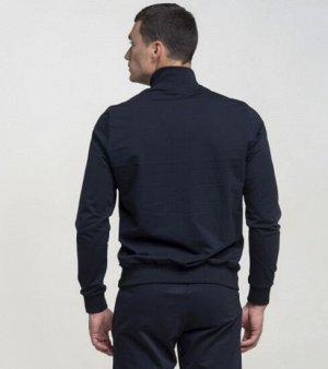 Куртка Т.синий Состав: 70% Cotton 30% Elastane Куртка на молнии, с карманами, воротник - стойка. Материал: Футер LUX -  износостойкий, идентичен по своим свойствам с тканью Футер.