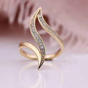 Кольцо Покрытие: золото 18К, фианиты