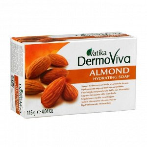 Мыло Vatika Naturals Almond Soap - с экстрактом миндаля 115 гр.