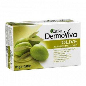 Мыло Vatika Naturals Olive Soap - с экстрактом оливы 115 гр.