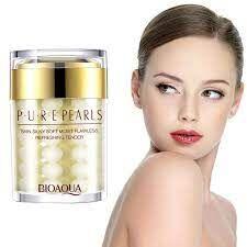 BIOAQUA, Увлажняющий крем с натуральной жемчужной пудрой Pure Pearls, 60 гр