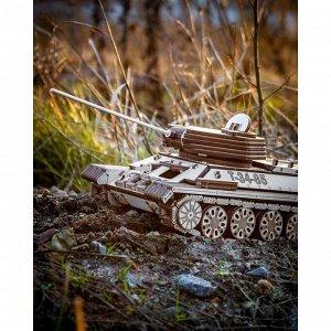 Сборная модель из дерева «Танк Т-34-85 механический»
