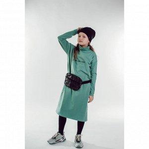 Платье для девочки ЗЕЛЕНЫЙ ГРАНИТ