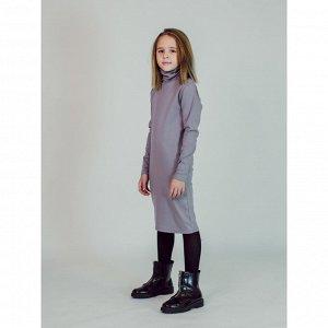 Платье СВЕТЛО-СЕРЫЙ
