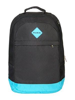 Рюкзак NUK21-MZ02-02 черный; голубой