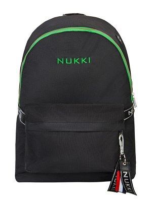 Рюкзак NUK21-MZ03-02 черный; зеленый