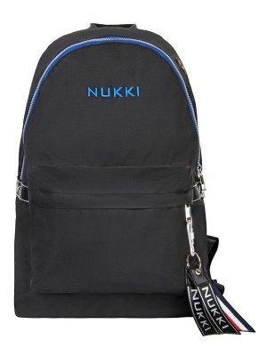 Рюкзак NUK21-MZ03-03 черный; синий