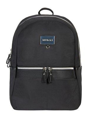 Рюкзак NUK21-NZ04-1 черный; серебристый