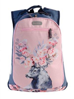 Рюкзак NUK21-SH5-01 сапфировый; пастельно-розовый