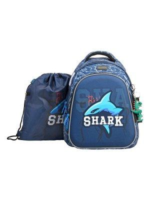 Школьный ранец NUK21-B4001-02 синий мальчики