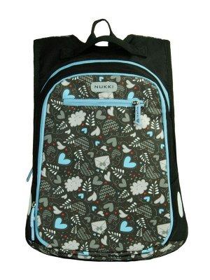 Рюкзак NUK21-SH5-03 коричневый; голубой