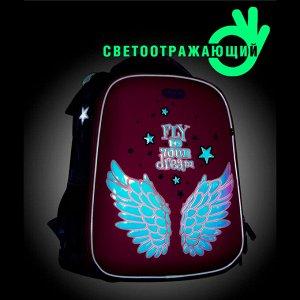 Школьный ранец NUK21-G6001-04 розовый девочки