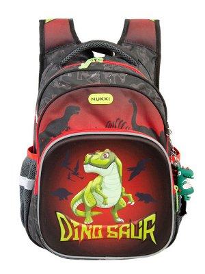 Школьный рюкзак NUK21-NB001-1 черный; красный мальчики