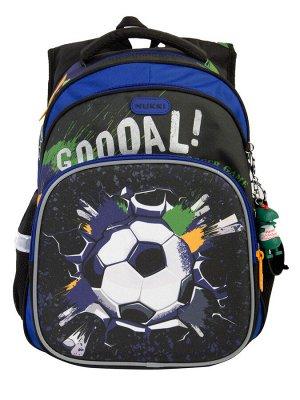 Школьный рюкзак NUK21-NB001-2 синий; черный мальчики