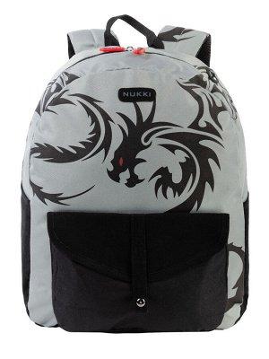Рюкзак NUK21-MB10-02 серый; черный