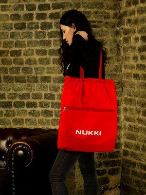 Сумка-рюкзак №63 Красный