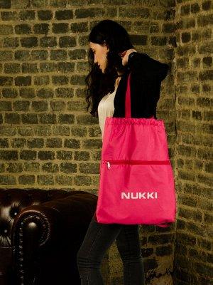 Сумка-рюкзак №63 розовый