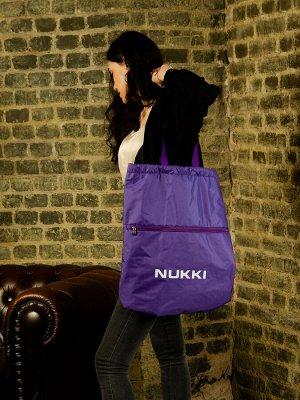 Сумка-рюкзак №63 фиолетовый