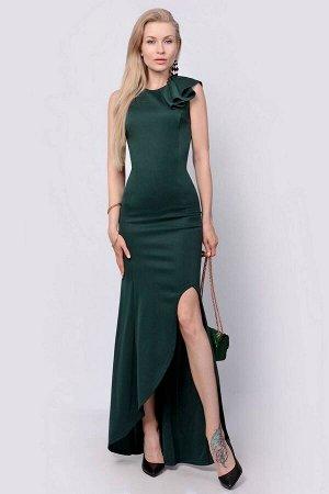 Платье PATRICIA by La Cafe F14815 зеленый