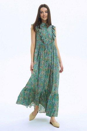 Платье LaVeLa L10240 мятный