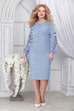 Платье Ninele 5817 голубой
